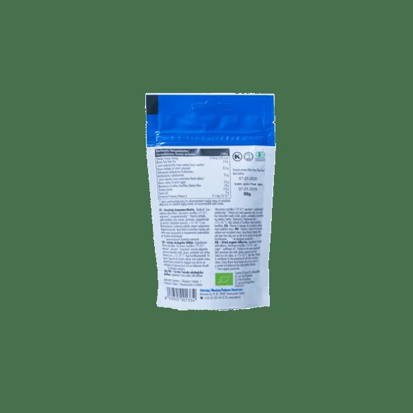 Biokia luomumustikkajauhe 30 g takapuoli