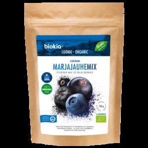 Luomu sininen marjajauhemix 150 g